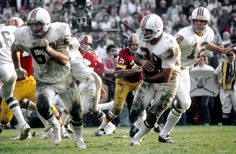 Super Bowl VII | January 14, 1973 | The Miami Dolphins finished their perfect season at the Coliseum in LA, beating the Washington Redskins 14-7 in the lowest scoring Super Bowl to date. Jake Scott, the Dolphins Safety, won the Super Bowl MVP, recording two interceptions. #SuperBowl #NFL