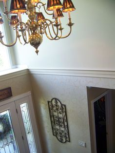 two story foyer decorating - Google Search