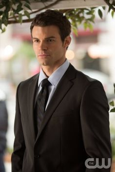 """The Vampire Diaries -- """"American Gothic"""" -- Pictured: Daniel Gillies as Elijah -- Image Number: VD418a_0134.jpg Photo: Bob Mahoney/The CW -- © 2013 The CW Network, LLC. All rights reserved."""