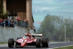 Gilles Villeneuve Ferrari Imola 1982 Jody Scheckter, F1 Motorsport, Belgian Grand Prix, Gilles Villeneuve, Ferrari F1, F1 Racing, Formula One, Car Car, Fast Cars