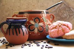 Café de Olla (Mexican Spiced Coffee) - I've been craving this since our last trip to Mexico. The best coffee I have every had! Authentic Mexican Recipes, Mexican Food Recipes, Starbucks Pumpkin Bread, Poblano, Spiced Coffee, Pan Dulce, Coffee And Books, Latin Food, Coffee Cafe