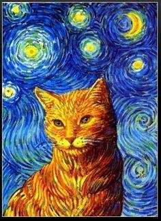 History of Art: cats in art - Vincent Van Gogh