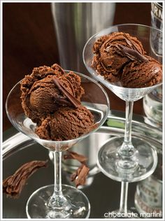Chocolate Martini Ice Cream!!