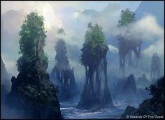 Island by Andreas Rocha