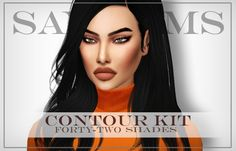 Sims 4 CC's - The Best: Contour Kit by SayaSims
