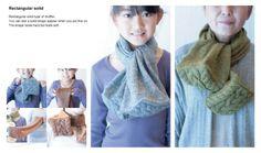 Японские эксперименты с шарфами и шапками. / Креатив в моде /