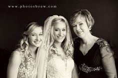 Pittsburgh winter wedding - mother of the bride and sister of the bride family photo - ©Copyright 2016 Photography by Amanda Wilson