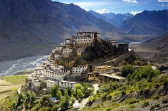 The Kyi Monastery, Spiti valley, Himachal Pradesh (India) Discover more interesting articles with www.theculturetrip.com