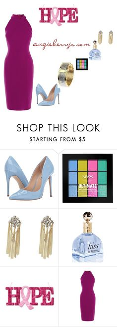 """Love shopping"" by angieberrys on Polyvore featuring Steve Madden, NYX and Karen Millen"