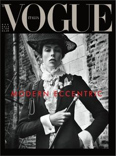 Modern eccentric by Steven Meisel, October 2013
