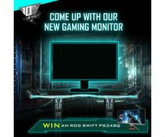 Win an Asus ROG Curved Gaming Monitor - http://freebiefresh.com/win-an-asus-rog-curved-gaming-monitor/