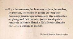 Aurochs Rouge - Chimeterre T1 par Tibéon Citation 07