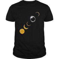August 2017 Solar Eclipse Tee  Sun Eclipse Shirt Souvenirs.