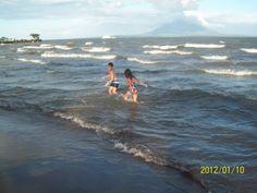 Playa de San Jorge, Rivas, Nicaragua. Ometepe, Travel, San Juan Del Sur, Saint George, Great Lakes, Volcanoes, Islands, Beach, Places