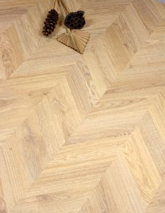 A classic oak Chevron laminate floor is something that's just not easy to find but very much in style right now. We were delighted to find Light Weinberg Oak made by top European laminate brand , . Types Of Wood Flooring, Real Wood Floors, Solid Wood Flooring, Engineered Wood Floors, Parquet Flooring, Wood Laminate, Laminate Flooring, Vinyl Flooring, Chevron Floor