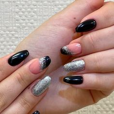 Silver Glitter For Short Coffin Nails ❤ 30+ Outstanding Short Coffin Nails Design Ideas For All Tastes ❤ See more ideas on our blog!! #naildesignsjournal #nails #nailart #naildesigns #coffins #coffinnails #shortcoffinnails #coffinnailshapes Nude Nails, Gel Nails, Manicure, Nail Polish, Classy Nail Designs, Diy Nail Designs, Classy Nails, Stylish Nails, Colored Nail Tips