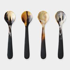 Georg Jensen - Alfredo Horn Spoons | MoMAstore.org