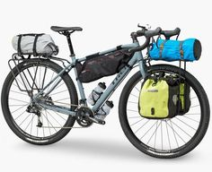 As a beginner mountain cyclist, it is quite natural for you to get a bit overloaded with all the mtb devices that you see in a bike shop or shop. There are numerous types of mountain bike accessori… Trek Bikes, Touring Bicycles, Touring Bike, Rando Velo, Bike Brands, Commuter Bike, Cargo Bike, Cool Bike Accessories, Cool Bicycles