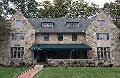 Phi Delta Theta House Cowley Avenue Phi Delta Theta, Michigan State University, Garage Doors, Cabin, House Styles, Places, Outdoor Decor, Home Decor, Decoration Home
