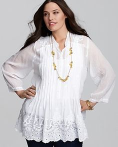 Embroidered Tunic - 1352