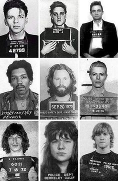 Mugshots of famous people -  imgfave