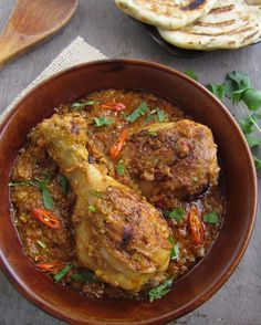Bhuna Murgh – Slow Cooked Chicken with Spices