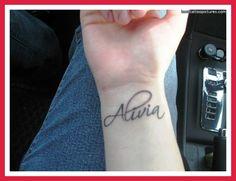 Lucas/Micah wrist tattoo