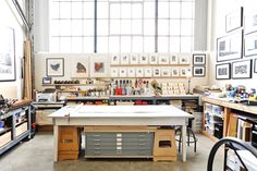 Sirima's Vintage Industrial Artist's Loft - WOW LOVE THIS, Look at all that natural light and space...