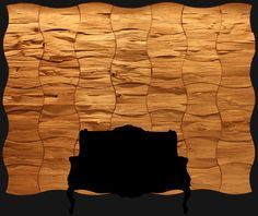 Boutique Holz Paneele Wangen-Gestaltung