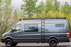 Safari Roof Rack - Outside Van - van life Mercedes Camper, 4x4 Camper Van, Mercedes Sprinter Camper, 4x4 Van, Camper Life, Mercedes Benz, Sprinter Van Conversion, Camper Van Conversion Diy, Ford Transit Campervan