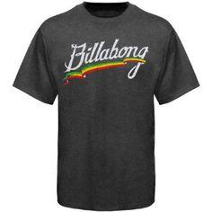 Billabong Allegiance Crew T-Shirt - Black Heather