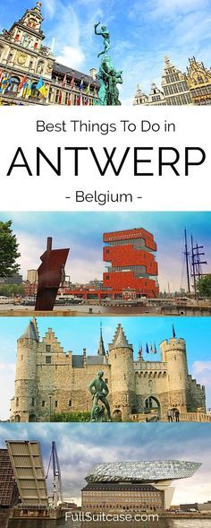 Insider's guide to the best things to see and do in Antwerp Belgium #Antwerp #travel