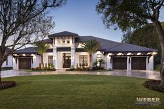 Abacoa House Plan: beach home floor plan, transitional Caribbean & West Indies style architecture. Luxury 1 story home with outdoor living area, contemporary open concept floor plan & pool detail. See photos of interior and exterior.