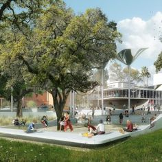 OMA's+team+wins+FAB+Park+competition+for+Downtown+LA