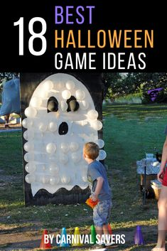 18 BEST Halloween Games for kids, families! Great for Fall Festivals or Halloween Parties! : 18 BEST Halloween Games for kids, families! Great for Fall Festivals or Halloween Parties! Free Halloween Games, Diy Halloween Party, Halloween Carnival Games, Halloween Tags, Halloween Festival, Halloween Crafts For Kids, Halloween Birthday, Halloween Halloween, Kids Halloween Parties