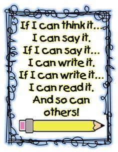 First Grade Wow: Writer's Tool Box
