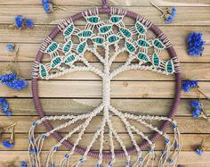 Macrame Wall Hanging Tree of Life Bohemian Home Decor