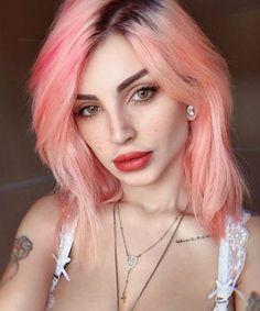 Pink Wigs Lace Frontal best shampoo for pink hair uk blonde ombre pink mofajang hair color wax pink pink and purple natural hair Bright Pink Hair, Hair Color Pink, New Hair Colors, Purple Natural Hair, Soft Hair, Shampoo For Pink Hair, Trendy Hairstyles, Straight Hairstyles, Curly Hair Styles