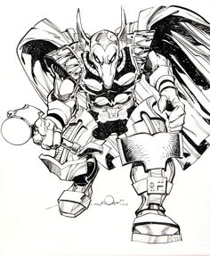 Simonson Beta Ray Bill Comic Art
