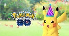 Vuelve el Pikachu festivo a Pokemon Go esta vez por el aniversario de Pokémon
