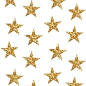 Sparkling Stars in Gold custom fabric by willowlanetextiles for sale on Spoonflower Sparkling Stars, Custom Fabric, Spoonflower, Mosaic, Craft Projects, Gold Necklace, Sparkle, Quilts, Diamond