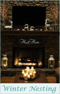 Winter Decorating - All Things Heart and Home