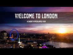 Welcome to London - A Short Hyperlapse Film. London is growing fast and is going vertical… i've been in London for 3 years now and from the . 6d Canon, Canon Eos, New Skyline, Things To Do In London, London Calling, Places Around The World, Great Britain, London England, Vacation Spots