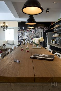 Super stylish kitchen in Tin Hau. Home Journal, September 2014.