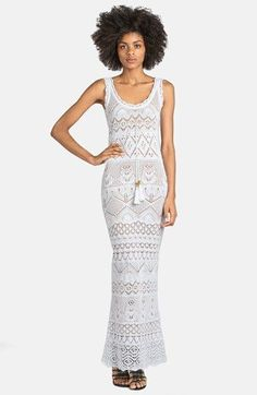 Emilio Pucci Long Crocheted Gown available at #Nordstrom #crochet