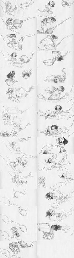 Chris Sanders,  storyboarding i