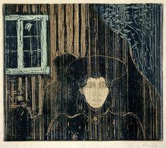 Edvard Munch Moonlight I, 1896