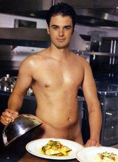 chef Nude male