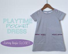 Playtime Pocket Dress Tutorial
