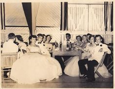 Senior Prom 1950: aka what I want my prom to look like but that not gonna happen